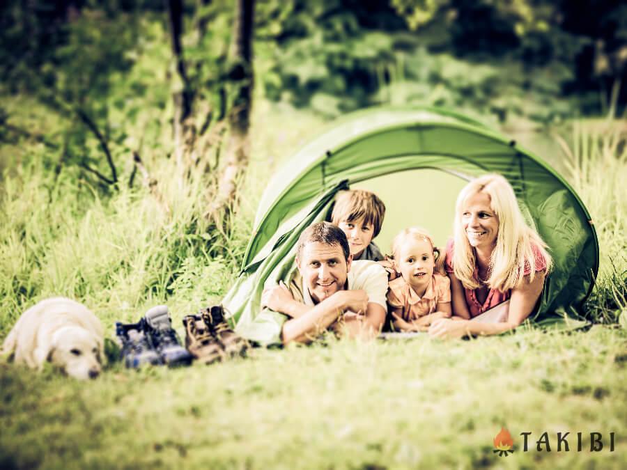 キャンプ初心者だけど子連れで大丈夫?初心者におすすめのキャンプ場や持ち物を紹介