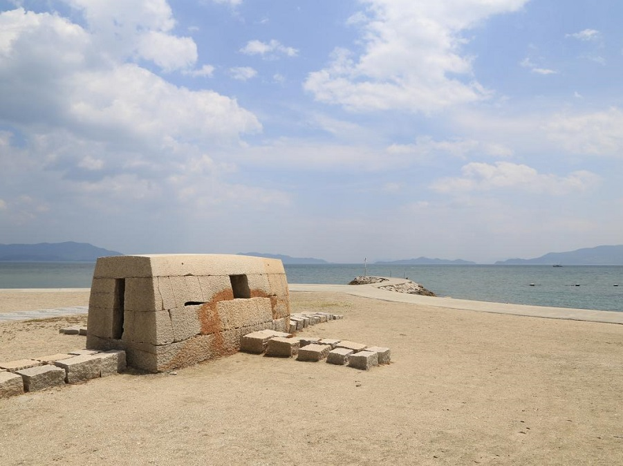 犬島公園 犬島キャンプ場(岡山県・犬島)