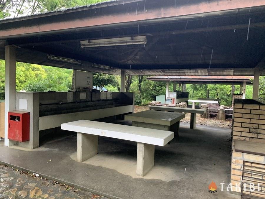 充実設備でアクセス良し!能勢温泉キャンプ場の3つの魅力 炊事場