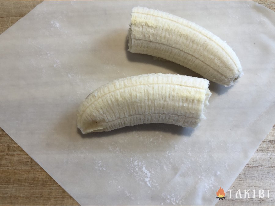 春巻きの皮アレンジ 『揚げチョコバナナ』と『ガレット風』