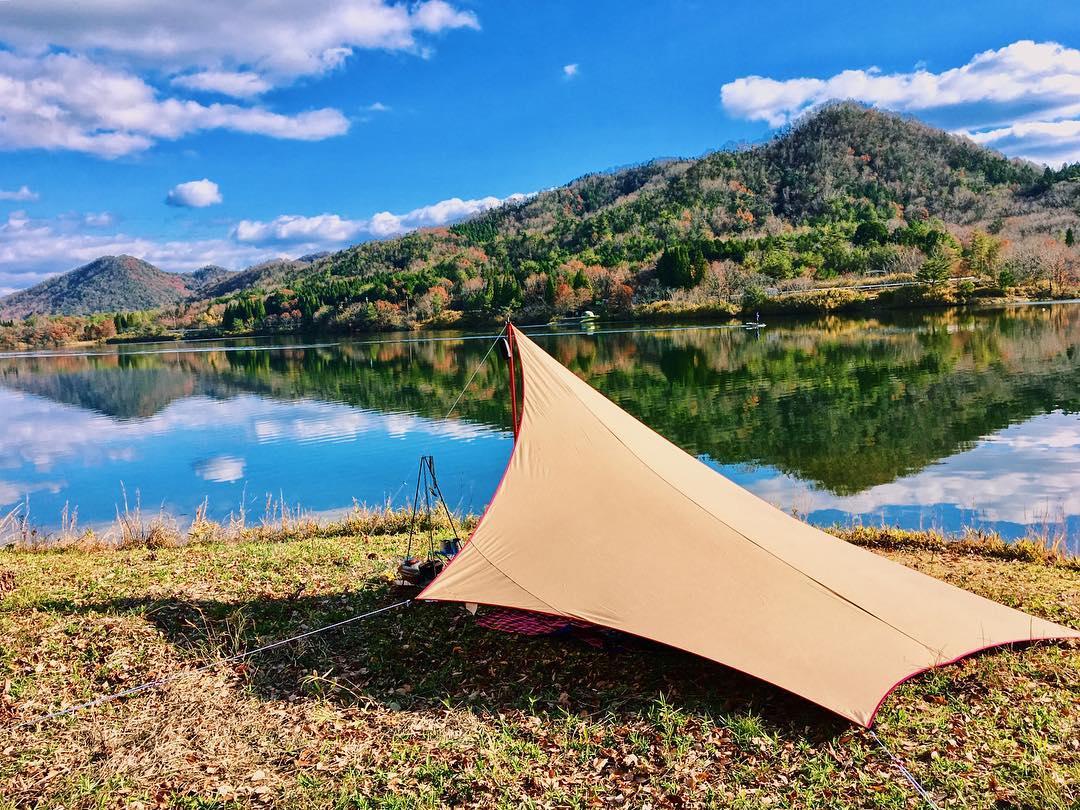 """tent-Mark DESIGN(テンマクデザイン) ムササビウイング13ft.TC """"焚き火""""version"""