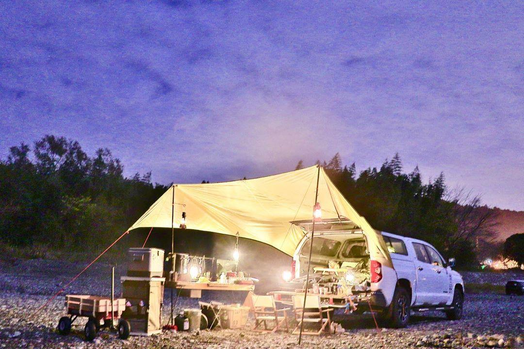 QUICKCAMP(クイックキャンプ)カーサイドタープ QC-CT500
