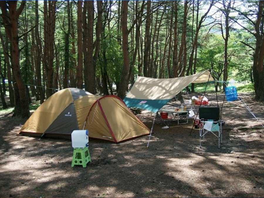 5.本栖湖キャンプ場(山梨県)