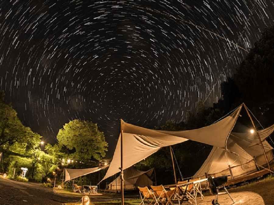 2.森と星空のキャンプヴィレッジ(栃木県)