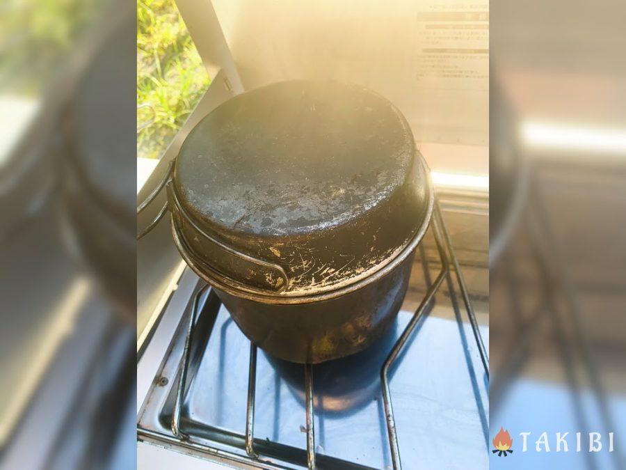 ミルクスープ 弱火でコトコト煮る