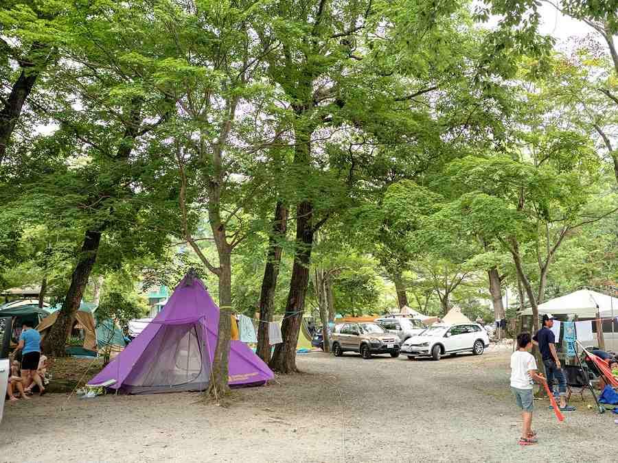 リバーパーク上長瀞オートキャンプ場(埼玉県)