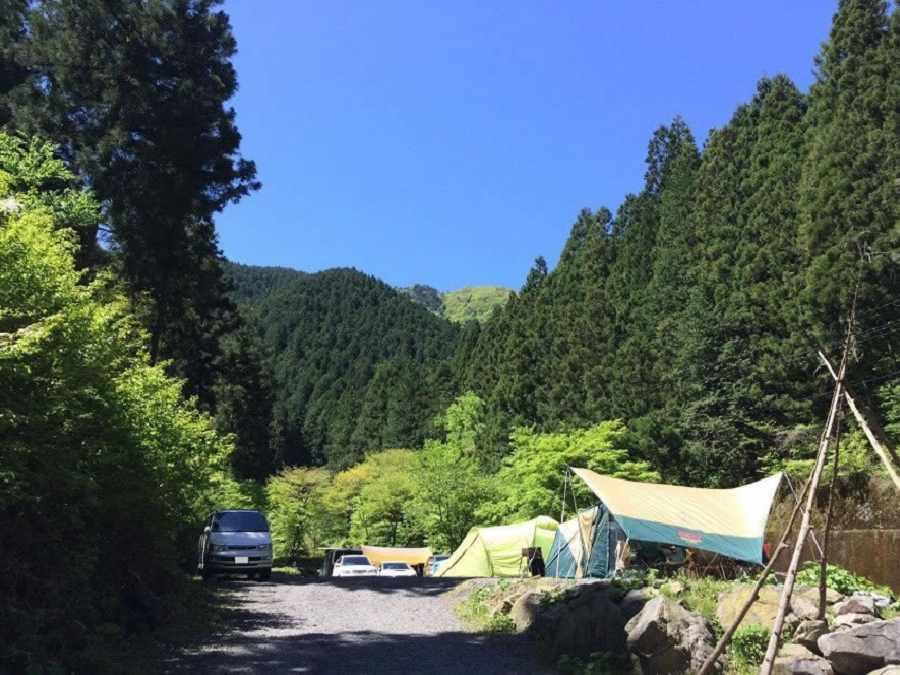 大岳鍾乳洞 大岳キャンプ場(東京都)