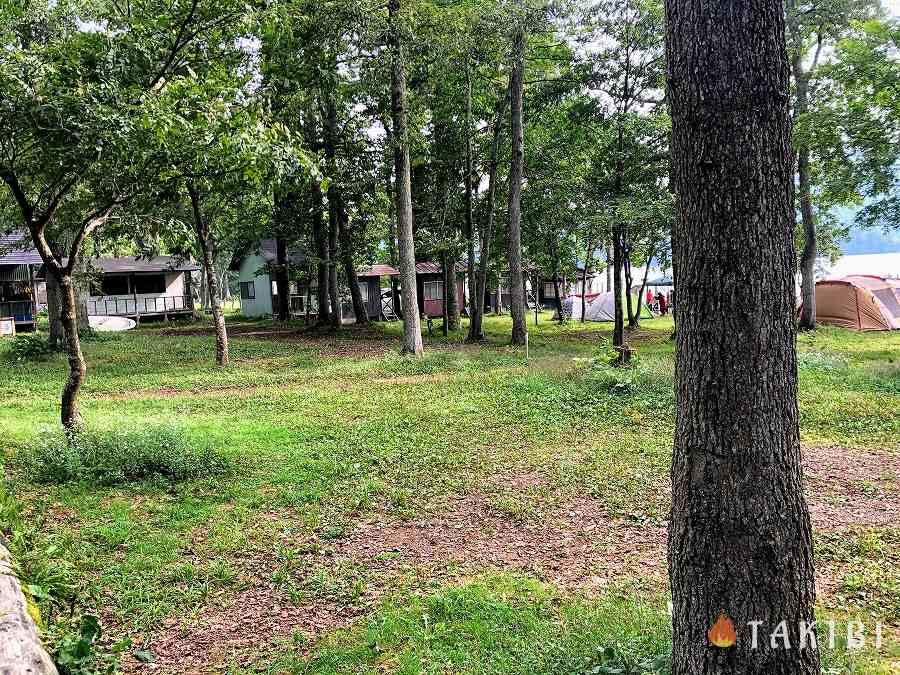 長野県,湖楽園キャンプ場,通常区画(1~32番)