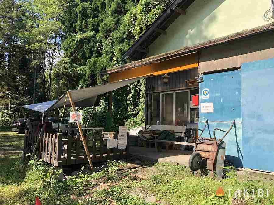 長野県,湖楽園キャンプ場,受付,管理棟
