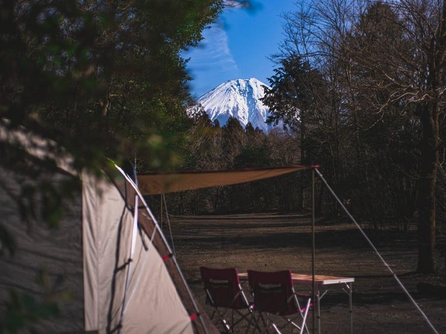 Foresters Village Kobitto Asagiri Camp Field (旧 猪の頭オートキャンプ場),静岡県