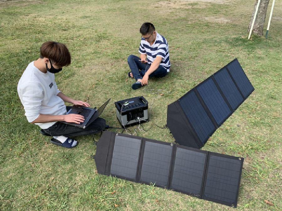 G1000,ポータブル電源,ソーラーパネル