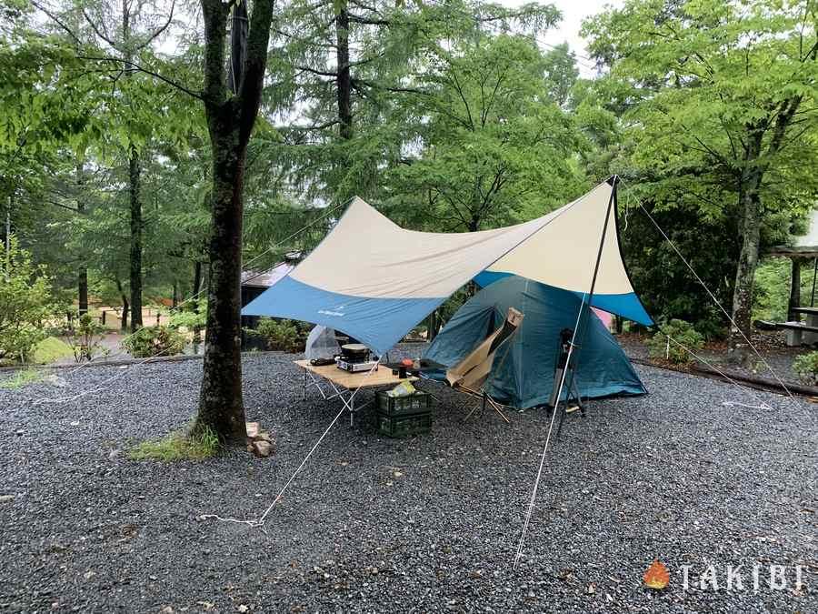 場 能勢 温泉 キャンプ