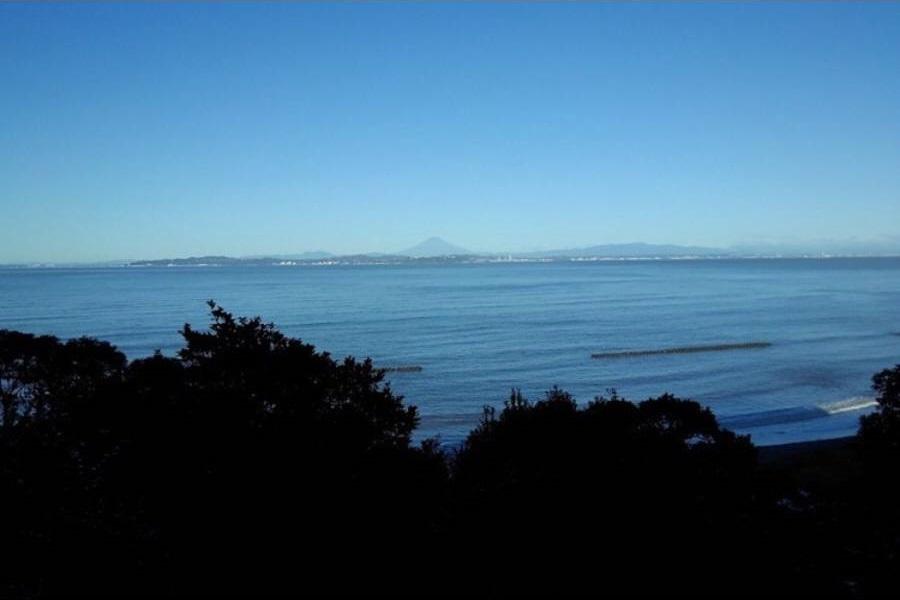 ささやかなおうち 笹毛,千葉県,ログハウスから見た景色